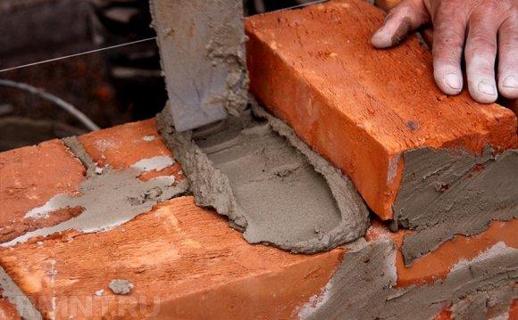 Раствор для кладки камина