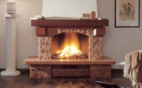 дровяной камин дома